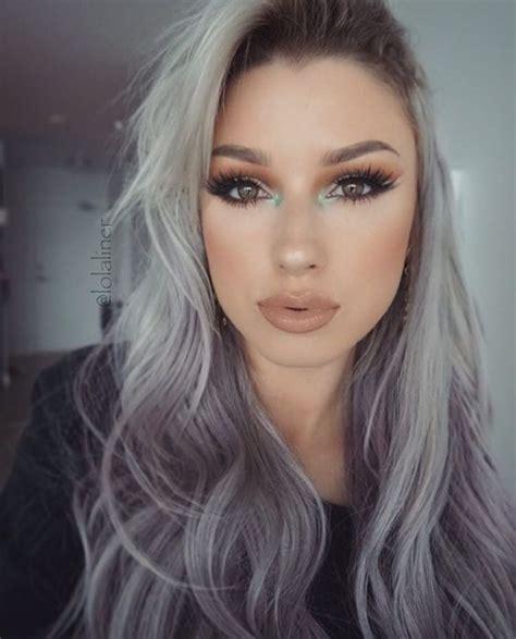 tintes de cabello color gris la moda en tu cabello color de cabello gris para mujeres