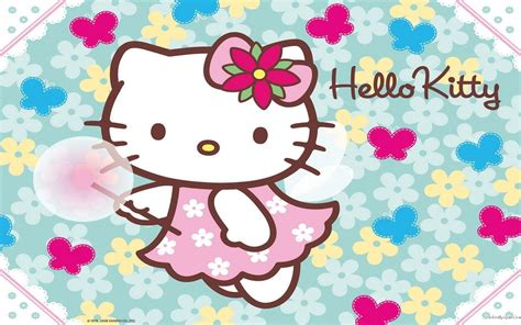 hello kitty wallpaper in facebook hello kitty spring wallpapers wallpaper cave