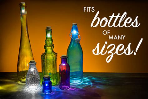 How To Turn A Wine Bottle Into A L by Bottle Lights Usb Rechargeable Lights Turn Bottles Into Ls