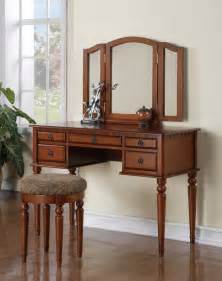 Childrens Vanity Mirror With Drawer Poundex F4074 White 5 Drawer Vanity Set With Mirror And