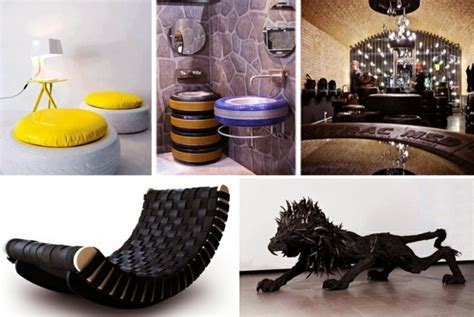 Small Room Decoration by 100 Diy Furniture From Car Tires Tire Recycling Do It