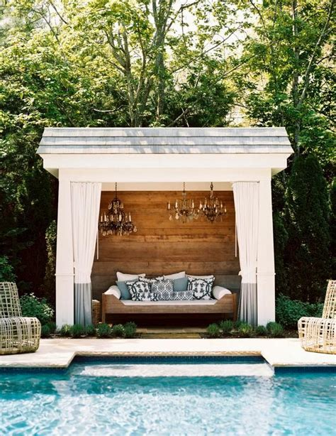 remodelaholic cabana style bringing the resort into your own backyard