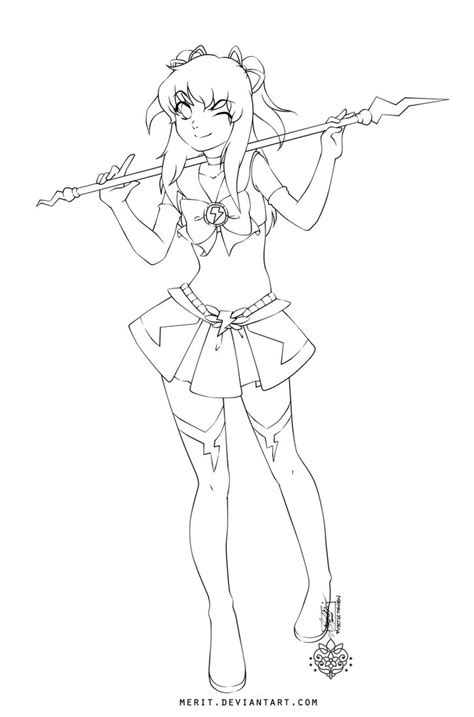 Anime Chibi Warrior Coloring Pages Anime Warrior Coloring Pages
