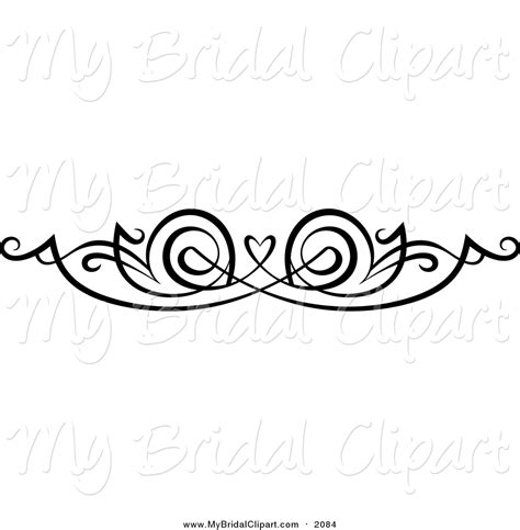 Wedding Border Clipart Vector Templates by Royalty Free Stock Bridal Designs Of Borders