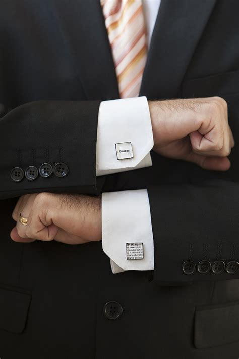 Personalized Wedding Cufflinks · How To Make A Cuff Link