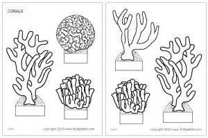 corals printable templates amp coloring pages firstpalette