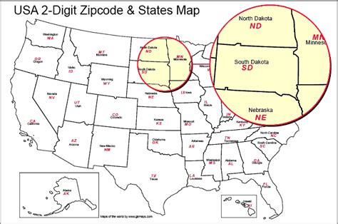 us zip code map usa editable zip codes of america