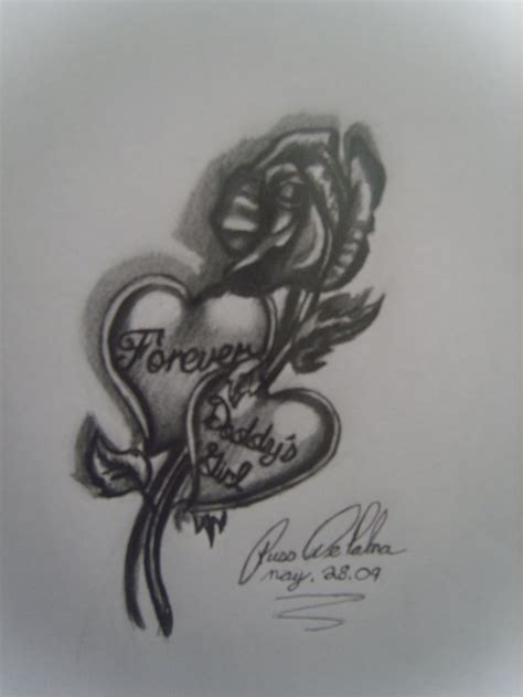 girl with the rose tattoo drawing www pixshark images
