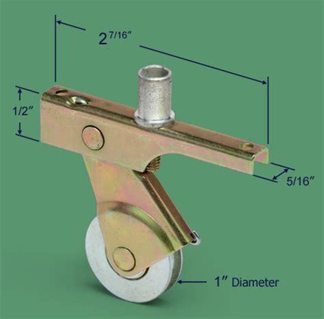 Patio Screen Door Rollers 84 074 Screen Door Roller 1 Quot Steel Bb Concave Swisco