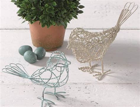 birds home decor little decorative wireframe birds decor