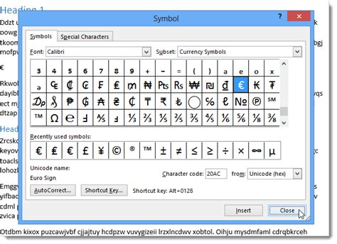 section sign on mac how to use symbols in word 2013