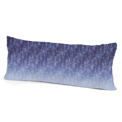 Microfiber Pillow Cover by Colormate Acid Microfiber Pillow Cover Blue Indigo