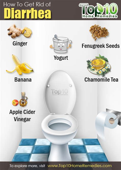 how to get rid of diarrhea top 10 home remedies