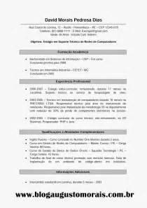 Curriculum Vitae Vs Resume by Modelo De Curriculo Vitae