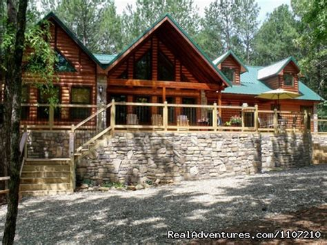 Beavers Bend Cabin Rentals by Image 12 19 Leaping Lizard 4 Bedroom Luxury Cabin