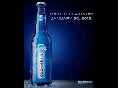 bud light on sale this week bud light platinum makes early debut in