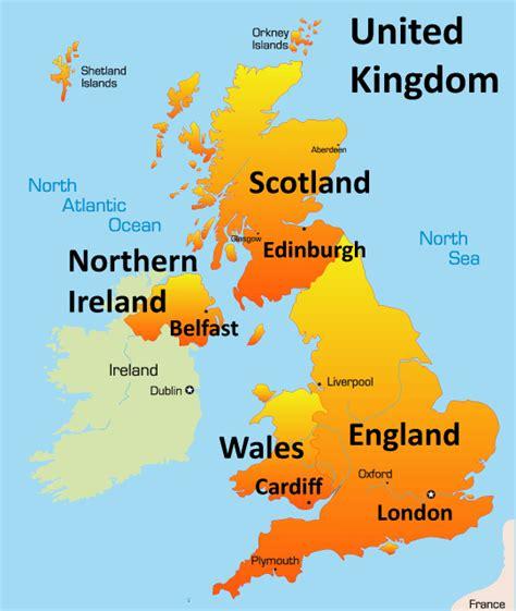 united kingdom map united kingdom map tourist attractions travelsfinders