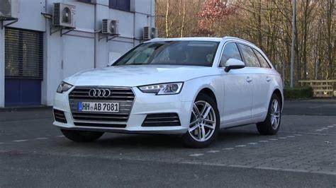 Audi A4 Avant 2 0 Tdi Test by 2018 Audi A4 Avant 2 0 Tdi Ultra 190 Hp Test Drive Youtube