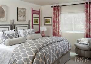 pink and gray bedroom pink and gray bedrooms contemporary bedroom colorado