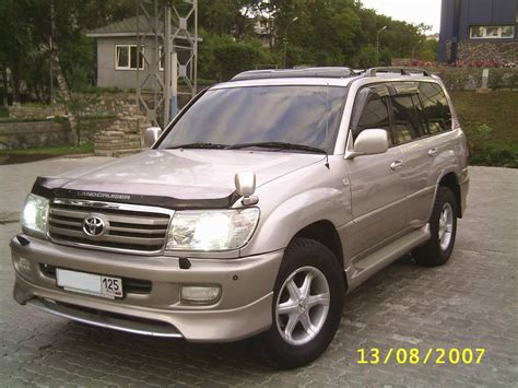 Toyota Land Cruiser Used Used 2002 Toyota Land Cruiser Photos 4700cc Gasoline