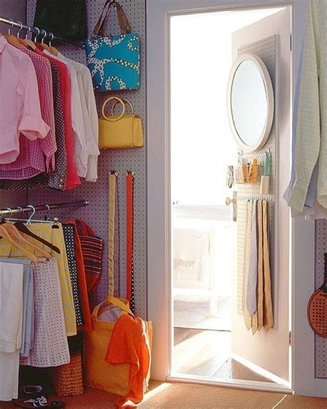 Pegboard Closet Organizer by 20 Creative Ways To Use Pegboard In Every Room Make It
