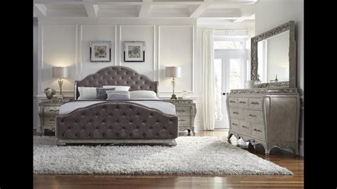 rhianna glam style bedroom set  pulaski furniture home gallery stores youtube