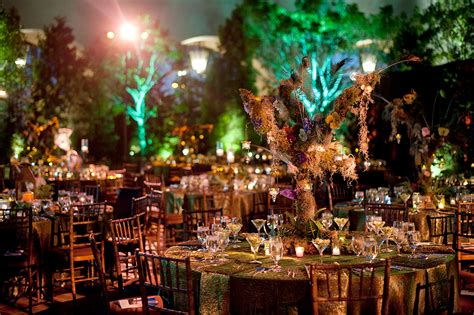 garden themed events enchanted forest decorations for wedding 254feinblatt