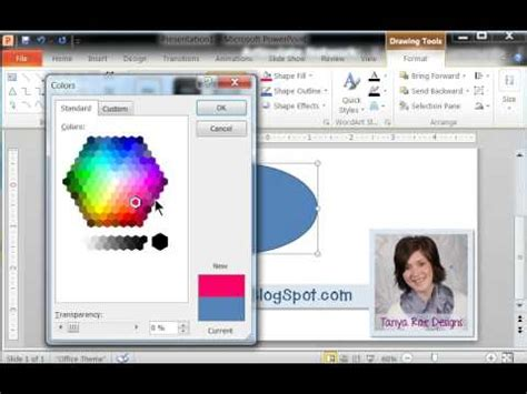 powerpoint tutorial youtube powerpoint tutorial how to fill a shape with an image