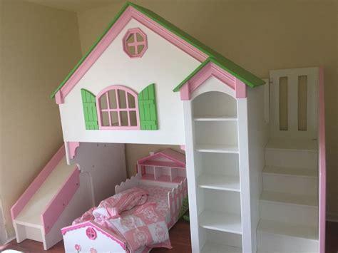 dollhouse loft bed dollhouse loft bed custom designed by tanglewood