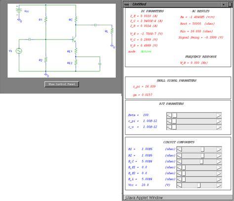 form design in java applet java applets for microelectronics education