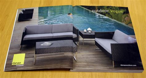 furniture magazines magazine advertisement design for an outdoor furniture manufacturer tornado