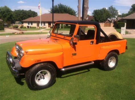 jeep scrambler 4 door sell used 1983 jeep scrambler base sport utility 2 door 4
