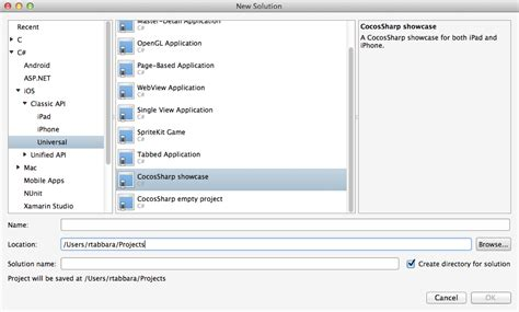 templates for xamarin cocossharp project templates for xamarin studio xamarin