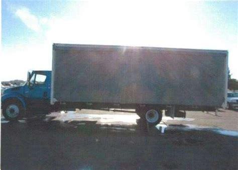 curtain side box truck 2004 international 4300 curtain side van box truck for