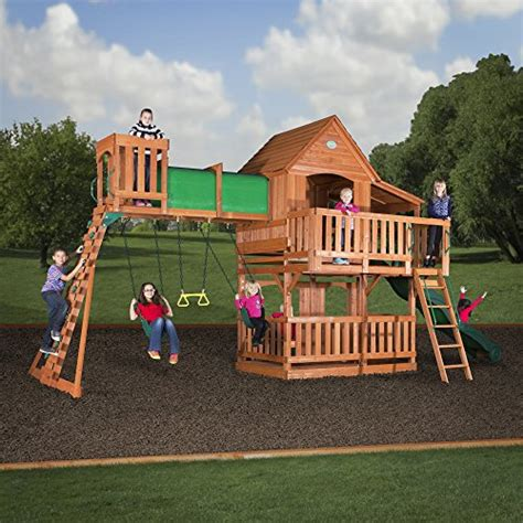 Backyard Discovery Coupon Code by Backyard Discovery Woodridge Ii All Cedar Wood Playset