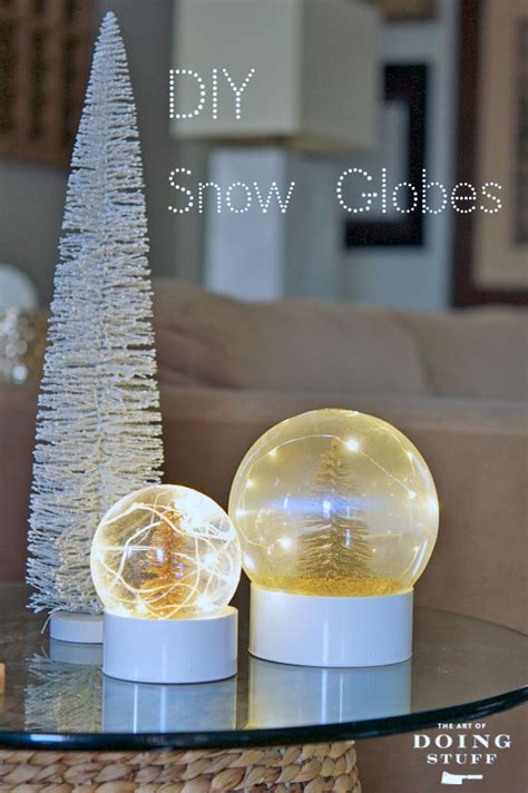 make your own real snow globe the art of doing stuffthe