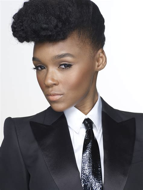 Janelle Monae Hairstyle by Janelle Monae Hairstyle