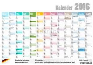 Kalender 2018 Nrw Kw Quot Kalender 2016 Mit Deutschen Feiertagen Kw Quot Stockfotos