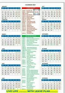 Calendar 2018 Rh Gh Crpf Calendar 2017 Gh Rh 2017 Calendar