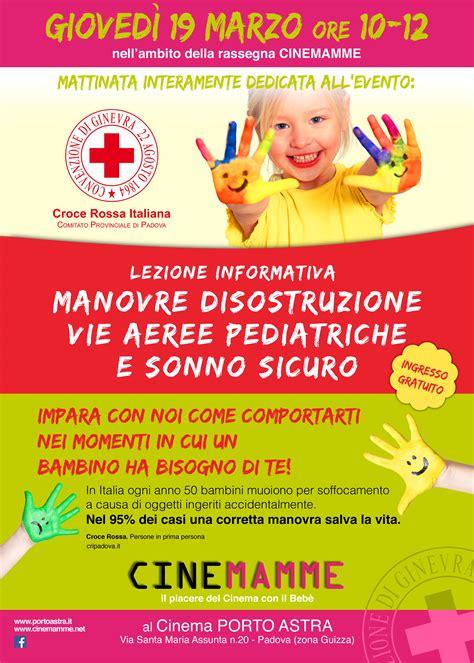 programmazione porto astra lezione informativa manovre salvavita in et 224 pediatrica