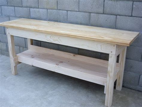 easy bench design simple workbench plans home design ideas