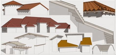 how to design a roof how to make a roof in sketchup