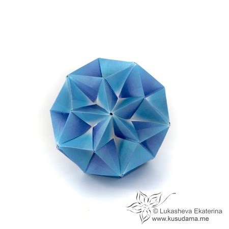 Why Was Origami Invented - kusudama me modular origami stellar unit