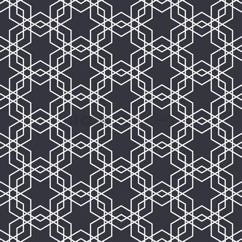 islamic pattern design vector free islamic geometric pattern design vector image 1979727