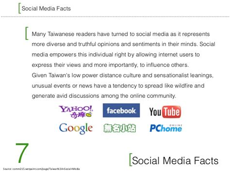 10 social media facts taiwanese social media and fast facts