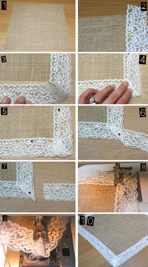 how to a table runner how to hessian table runners uk wedding styling