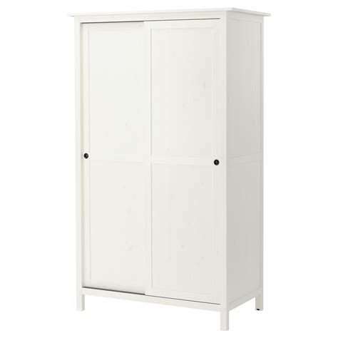 schrank 70 x 70 hemnes wardrobe with 2 sliding doors white stain 120x197