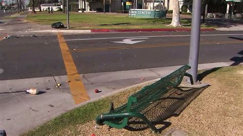 hit the bench couple struck by hit and run driver in santa ana man dead
