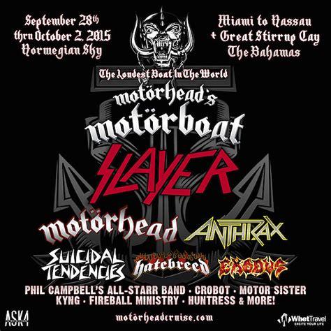 motorboat cruise motorhead s motorboat cruise returns for 2015