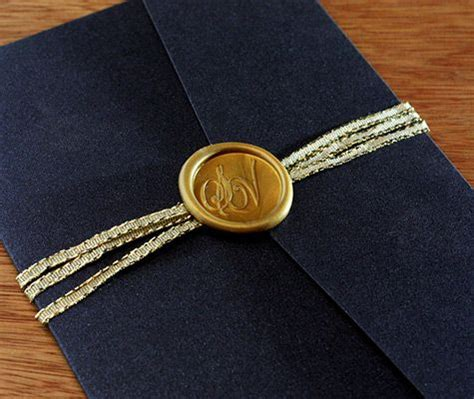 how to seal wedding invitation envelopes we really when couples customize an adhesive wax seal to accompany their belly bands